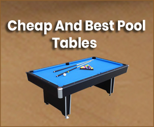 Top 10 Best and Cheap Pool Tables