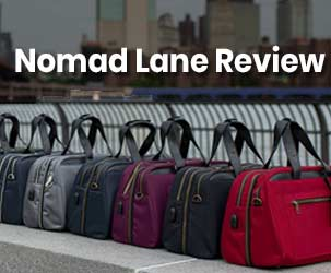 Nomad Lane Review - The Fashionable Travel Bags