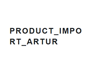 Product Import Artur Coupons